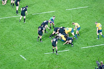 All Blacks v Wallabies
