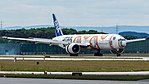All Nippon Airways (Star Wars - BB-8 livery) Boeing 777-300ER (JA789A) at Frankfurt Airport (7).jpg
