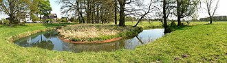 Aller (Germany) - Bend in the river on the Upper Aller in Dannenbüttel
