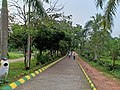 Alley walkway at Kadri Park in Mangalore - 1.jpg