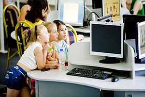 Educational technology - Multimedia space Moldova Alliance Française.