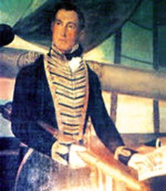 Battle of Martín García (1814) - Brown (oil by Felipe Goulu, 1825)