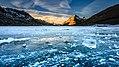 Alps of Switzerland Ice on Bernina Pass (25454788750).jpg