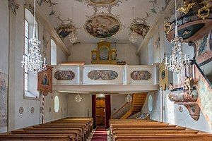 Alte Pfarrkirche Lech am Arlberg, Interior 09.JPG