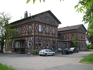 Germersheim - Old train station
