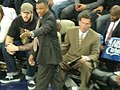 Alvin Gentry at Suns at Warriors 3-15-09 2.JPG
