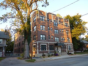 National Register of Historic Places listings in Greene County, Missouri - Image: Ambassador Apartments Springfield MO