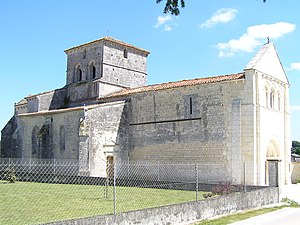 Ambleville, Charente - The Church