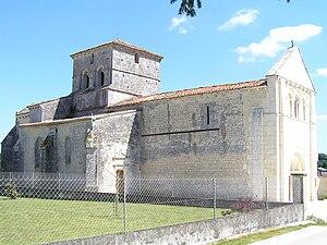 Ambleville, Charente - The Church