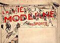 Amedee Lynen La vie moderne les Sports, vers 1900.jpg