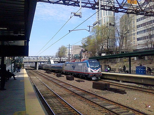 New Rochelle station