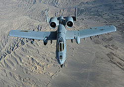 An A-10 Thunderbolt II flies a close-air-support mission over Afghanistan(6).jpg