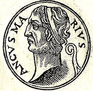 Ancus Marcius King of Rome
