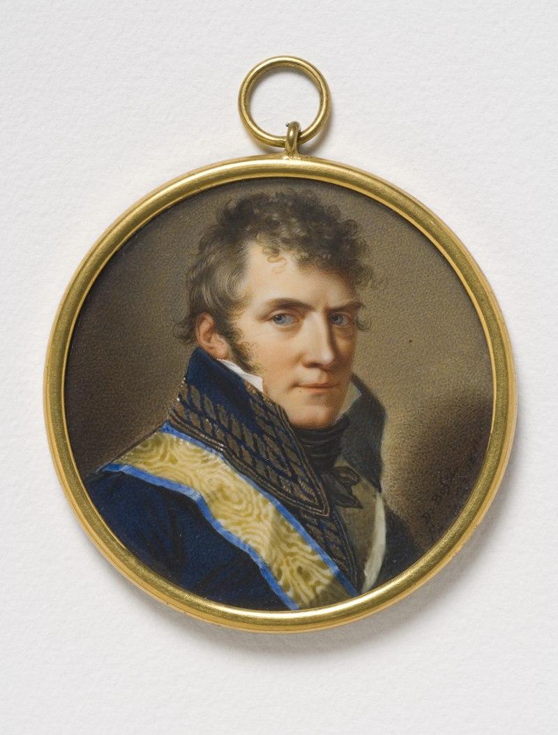 Anders Fredrik Skjöldebrand, 1757-1834, Count, general (Giovanni Domenico Bossi) - Nationalmuseum - 24182.tif