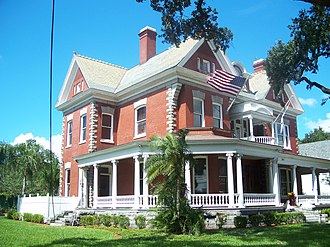 National Register of Historic Places listings in Hillsborough County, Florida - Image: Anderson Frank House Tampa 01