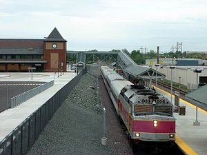 Mishawum (MBTA station) - Mishawum was largely replaced by the more modern Anderson RTC in 2001