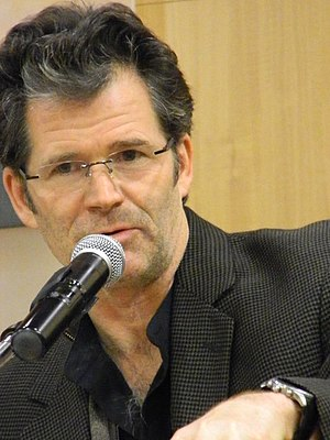 Andre Dubus III - Dubus at a New York Barnes & Noble on October 15, 2013.