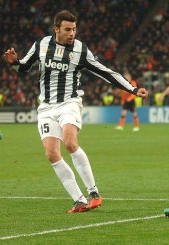 Andrea Barzagli - Barzagli playing for Juventus in 2012