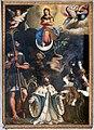 Andrea commodi, immacolata concezione coi ss. cristoforo, ludovico re, cecilia e caterina, 1609, 01.jpg