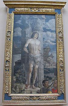 Andrea mantegna, san sebastiano, 1480 ca..JPG