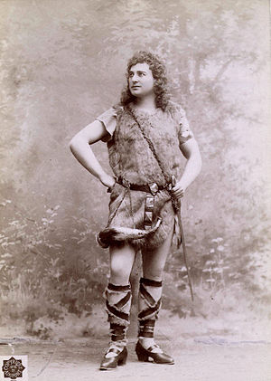 Andreas Dippel - As Siegfried in 1898.