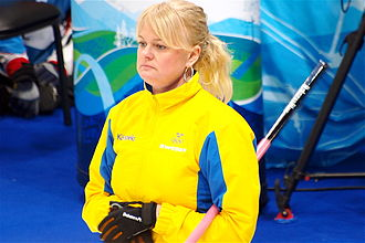 Anette Norberg - Norberg at the 2010 Winter Olympics