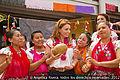 Angélica Rivera de Peña en encuentro y Visita a la escuela de los Voladores de Papantla. (6932266236).jpg