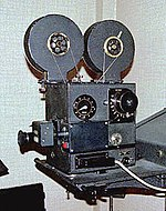A camera used for shooting traditional animation. See also Aerial image.