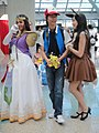 Anime Expo 2011 - Zelda, Ash, and pal (5893315214).jpg