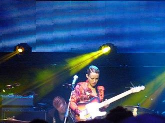 Anna Calvi - Calvi performing at the Royal Albert Hall, 27 March 2010