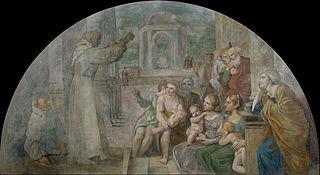 Saint Didacus Preaching