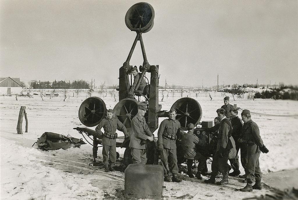 Antiaircraft defence Sweden 1940