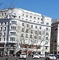 Antigua sede social y viviendas para Le Phenix, plaza de la Independencia, Madrid (cropped).jpg