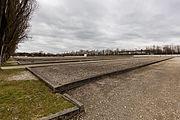 Antiguas barracas de prisioneros, campo de concentración de Dachau, Alemania, 2016-03-05, DD 14.jpg