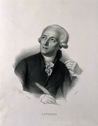 Natural product - Antoine Lavoisier (1743-1794)