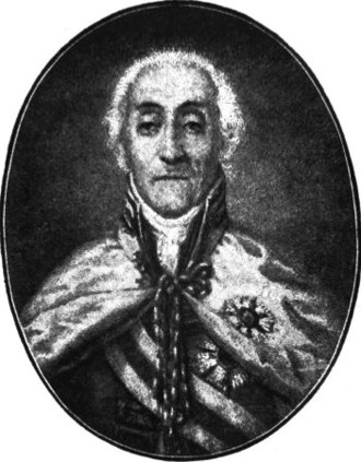 Septinsular Republic - Antonios Komoutos, President of the Septinsular Republic 1803