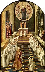 Apparition of the Virgin to a Community of Dominicans