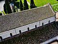 Aquileia Cattedrale Santa Maria Assunta Blick vom Campanile aufs Kirchendach 1.JPG
