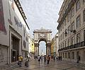 Arco Triunfal da Rua Augusta, Plaza del Comercio, Lisboa, Portugal, 2012-05-12, DD 04.JPG