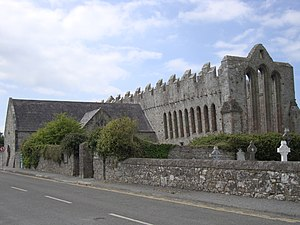 Ardfert Cathedral - Exterior View of Cathedral