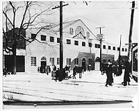 Mount Royal Arena as it appeared in the 1920s.