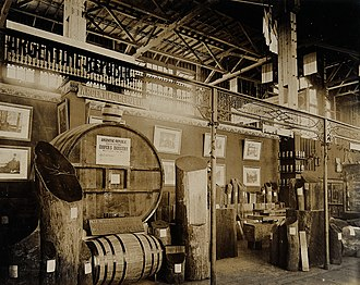 Forestry in Argentina - There is a longstanding forestry industry in Argentina, as illustrated by this display at the 1904 World's Fair in St. Louis; however major exports did not begin until 1999.