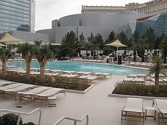Aria Resort and Casino - Photo of one of the pools