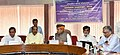 Arjun Ram Meghwal in a meeting with the Members of Parliament, regarding Swachhta Pakhwada, 2018, observed by the Ministry of Parliamentary Affairs, in New Delhi.jpg