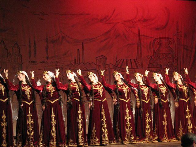 Armenian traditional dance