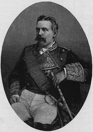 Arsenio Martínez Campos - Arsenio Martínez-Campos in 1899.