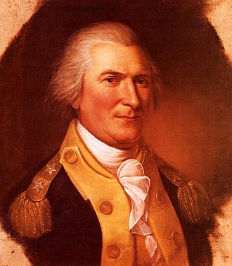 Siege of Fort Ticonderoga (1777) - General Arthur St. Clair, portrait by Charles Willson Peale