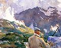 Artist in the Simplon John Singer Sargent.jpeg