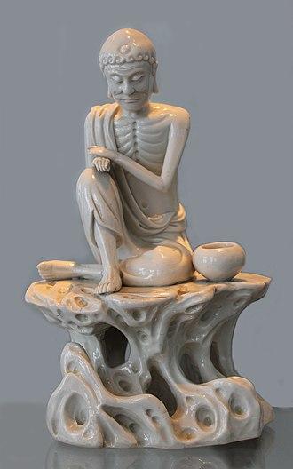 Dehua porcelain - Image: Ascetic Buddha 2