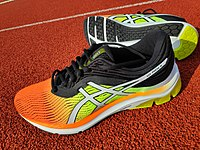 asics running shoes history